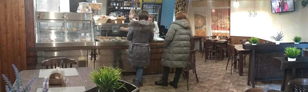 Торговый зал кафе Царица
